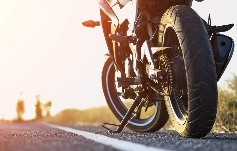 Non solo la moto. C'è molto di più.